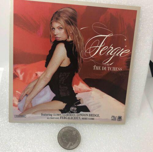 2006 Fergie As The Dutchess Promo Sticker