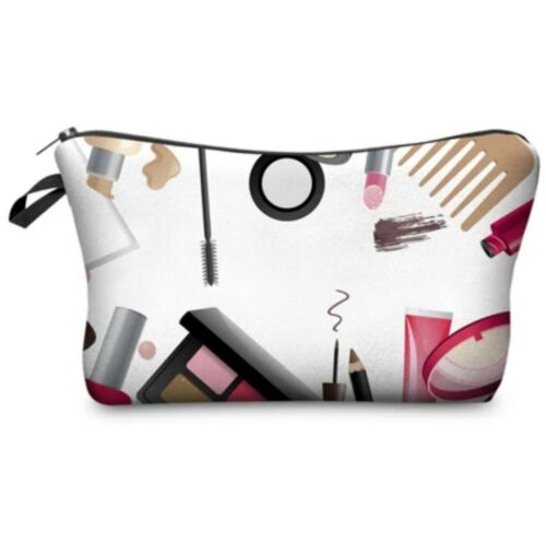 Jom Tokoy Small Soft Cosmetic Make up Bag, Make up print des