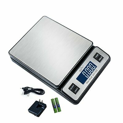 Weighmax W-2809 90 Lb X 0.1 Oz Durable Stainless Steel Digital Postal Scale ...