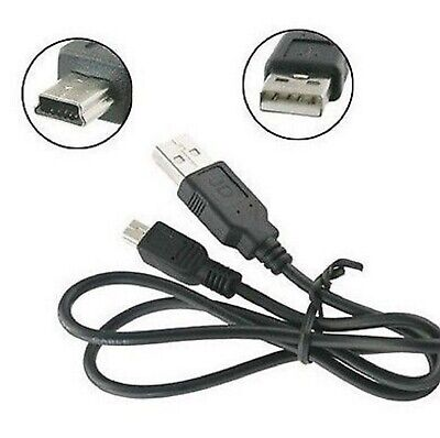Cable cargador o de datos USB 2.0 a Mini USB B 5...