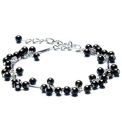 feng shui handmade Black Obsidian beads Bracelet amulet for protection