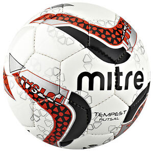 5-x-BRAND-NEW-2013-MITRE-FUTSAL-TEMPEST-WEIGHTED-FOOTBALL-SIZE-4-INDOOR-OUTDOOR