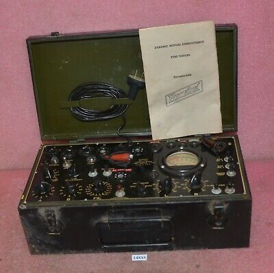 Vintage Hickok Tube Tester Model I-177