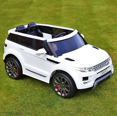 Kids Range Rover HSE Sport Style 12v Electric Battery Ride on Car Jeep - White