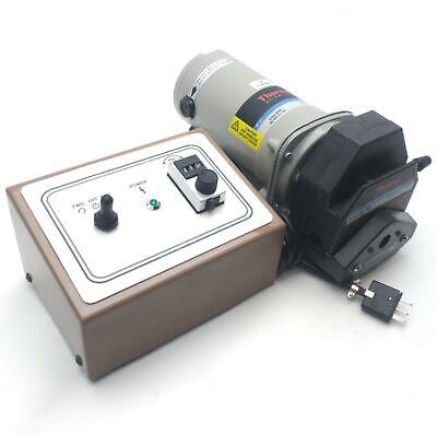 Peristaltic Pump Controller 56-1700mlmin 15 24 35 36 Tubing 120vac
