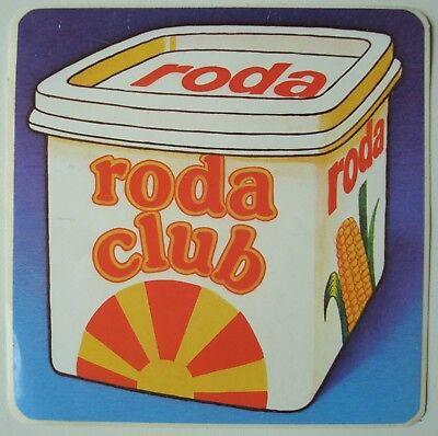Sticker autocollant Margarine RODA Club. - Vintage.
