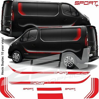 Renault Traffic Sport + full Decals graphics stickers stripes any colour vivaro