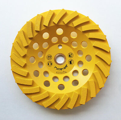 New 7 24 Turbo Segments Edco Diamond Grinding Cup Wheel Wpin Hole- The Best