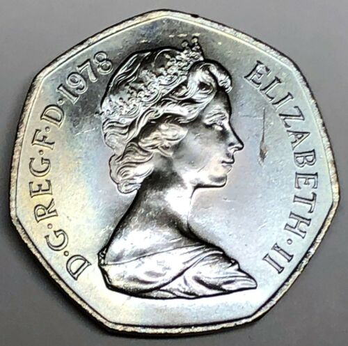 # C7968   GREAT BRITAIN     COIN,     50  PENCE   1978