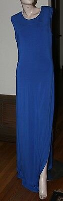 bebe RETREAT X BACK MAXI DRESS SIZE L ()