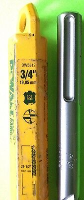 Dewalt Dw5812 34 X 16 X 21-12 4 Cutter Sds-max Rotary Hammer Drill Bit