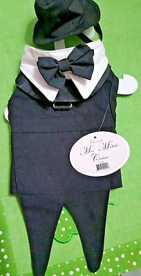 Cat Tuxedo Outfit (QUALITY, Dog or cat Tuxedo outfit, Mia couture collection by Doggie)