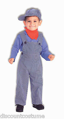 Conductor Halloween Costumes (LIL' ENGINEER TRAIN CONDUCTOR CHILD HALLOWEEN COSTUME BOY SIZE SMALL)