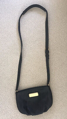 MARC by MARC JACOBS standard supply small black leather crossbody bag