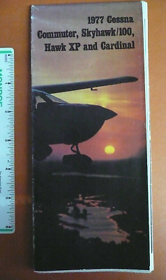 1977 Leaflet Cessna 150 Commuter 172 Skyhawk Hawk XP 177 Cardinal w/ Perf, Specs