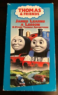 James Learns a Lesson & Other Thomas Adventures VHS Tape with Sleeve Ringo Starr