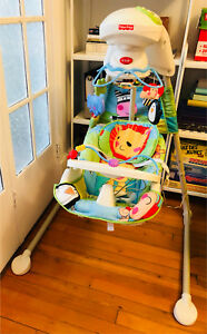 Baby swing Fisher Price gently used