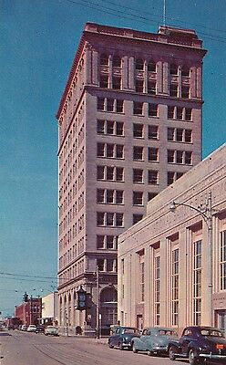 1950's early chrome American National Bank Beaumont, Texas TX