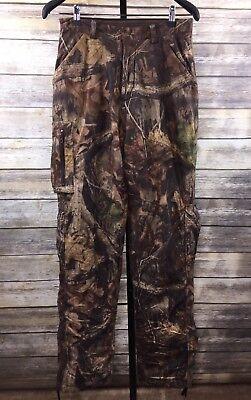 4834211834cc4 Cabela's Whitetail Hunting Pants Scent Lok Gore Tex Men's 30 Tall Realtree  Camo