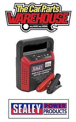⭐️ Sealey STC60 Battery Charger 6/12V 6Amp 230V Automatic Car / Bike / Van ⭐️