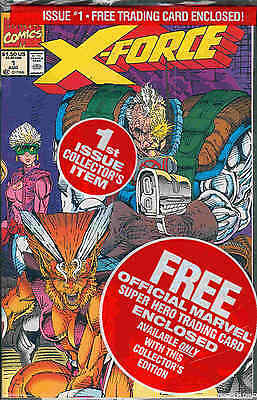 X-Force # 1 (X-Force team card) (Rob Liefeld) (USA, 1991)