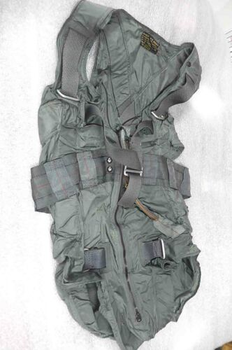 1950s Buaer US Navy Suit Integrated Switlik Parachute Torso Harness MIL-S-19089