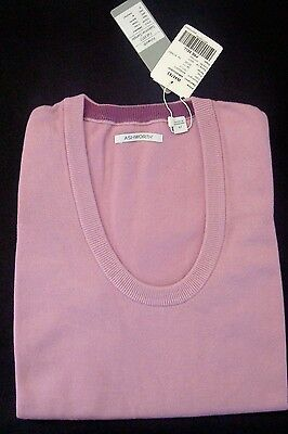 Ashworth Womens Med Sleeveless Golf Sweater Vest Lite Lilac Purple Aw8020f2