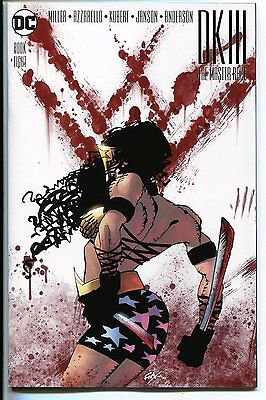 DARK KNIGHT DK III MASTER RACE #8 JIM LEE 1:100 WONDER WOMAN DC 2017 NM+
