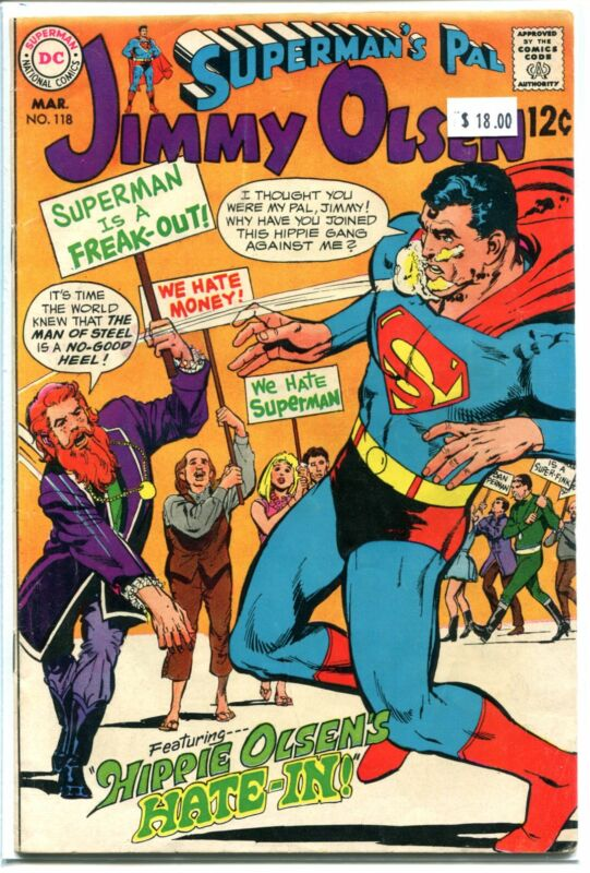 SUPERMANS PAL JIMMY OLSEN #118