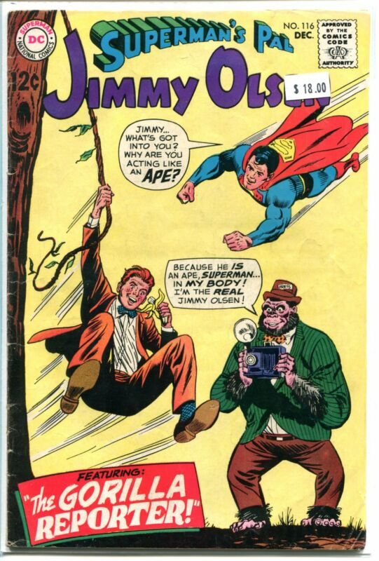 SUPERMANS PAL JIMMY OLSEN #116