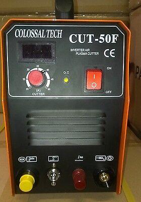 Pilot Arc Plasma Cutter Cut50f Inverter 50amp 220v 18 Consumables Digital 2019