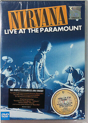 NIRVANA The Complete Halloween 1991 Concert Live At The Paramount DVD FREE SHIP  - Halloween Live Concert