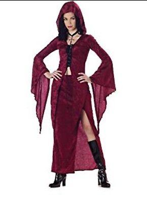 TEEN MAIDEN OF DARKNESS GOTHIC VAMPIRESS VAMPIRE HALLOWEEN COSTUME TEENAGER (Vampire Costume Teenage Girl)