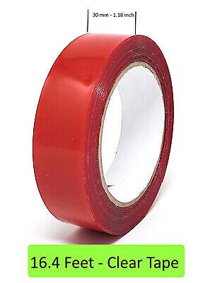 Bondit Clear Double Sided Tape Vhb Mounting Tape Heavy Duty - 16.4 Feet