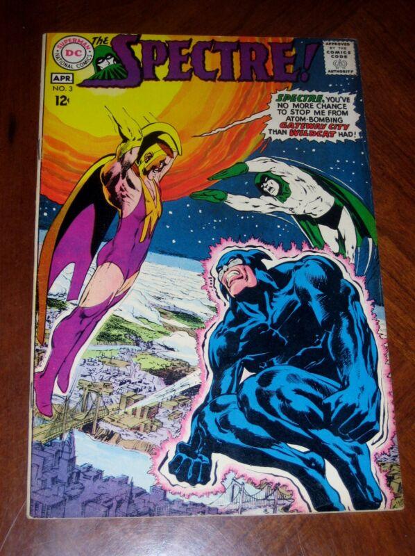 SPECTRE #3 (1968) VF- cond. NEAL ADAMS Wildcat