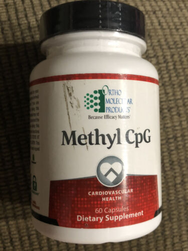 Ortho Molecular - Methyl CpG For Cardiovascular Health - 60 Capsules Exp 10/2021