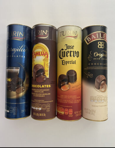 2 Bundle Pack TURIN LIQUOR CHOCOLATES KAHLUA JOSE CUERVO Baileys Carajillo