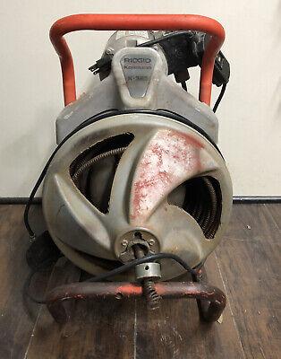 Ridgid Kollmann K-380 115v 13hp Drain Cleaner Drum Machine 03bg14004a