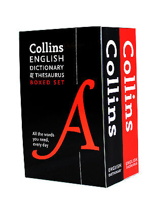 Collins English Dictionary and Thesaurus Set - NEW