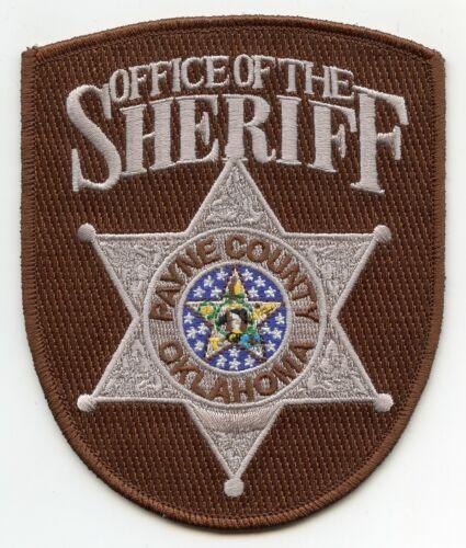 PAYNE COUNTY OKLAHOMA OK SHERIFF POLICE PATCH