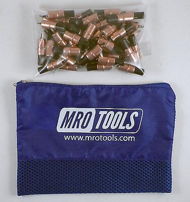 50 18 Extra Short Cleco Sheet Metal Fasteners W Mesh Carry Bag Kk2s50-18