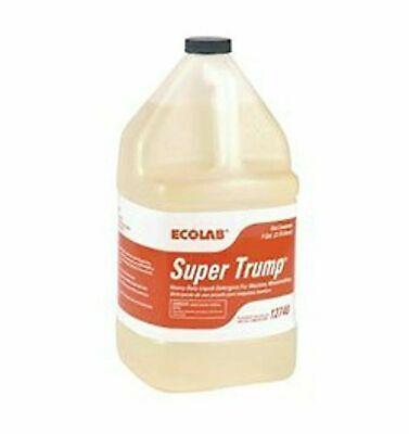 Super Trump By Ecolab - Detergent For Dishwashers 12740- Machine Warewashing