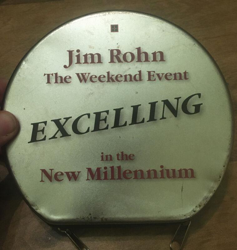 Jim Rohn Weekend Event 11 Audio CDs Zig Ziglar Tony Jeary Jeffrey Gitomer RARE