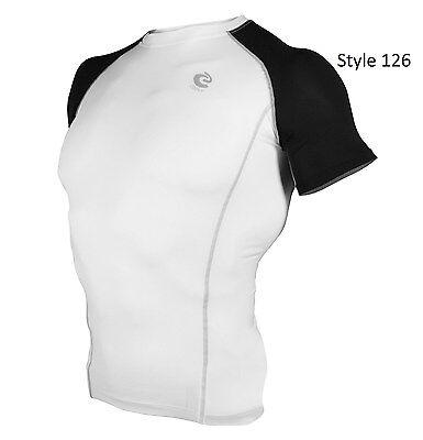 126 White w/Black Short Sleeve Shirt