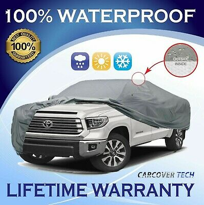 100% Weatherproof Full Pickup Truck Cover For Toyota Tundra [2000-2020]
