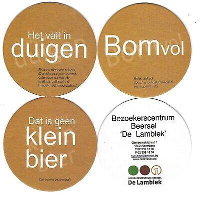 34a Belgie De Lambiek Beersel  (3stuks) Dia 95