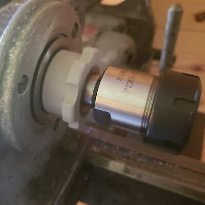 Logan Atlas South Bend Lathe 1-12 X 8 Spindle Nose Thread Protector Easy Off