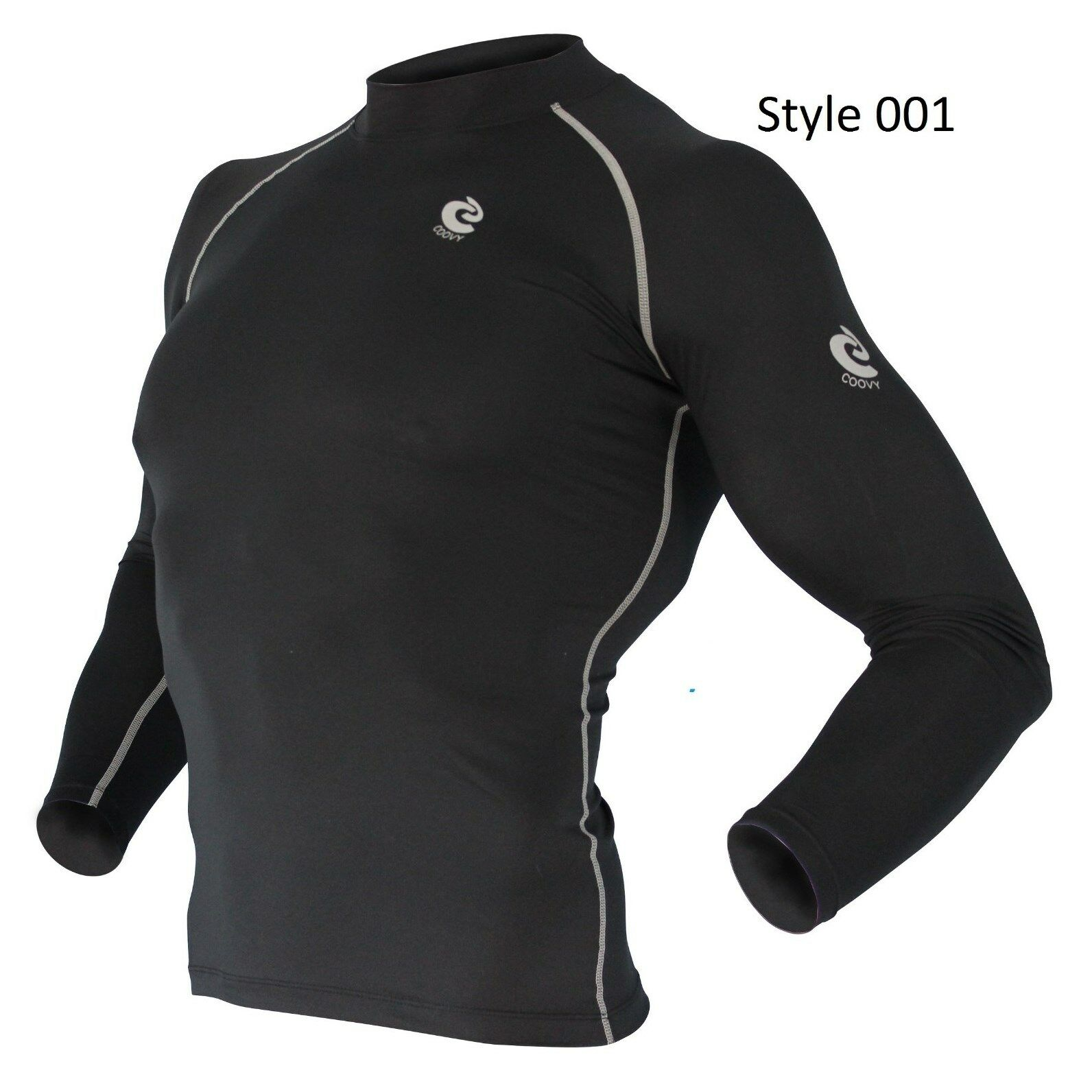 001 Black Long Sleeve Shirt