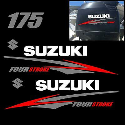 Used, Suzuki 175 hp FourStroke Outboard Decal Kit