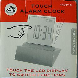 NEW KIKKERLAND 4 IN 1 ALARM LCD DISPLAY ALARM CLOCK THERMOMETER CALENDER TIMER